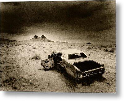 Desert Arizona Usa Metal Print by Simon Marsden