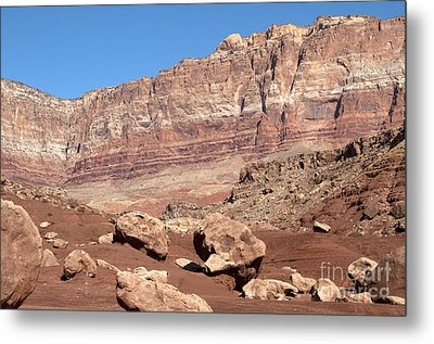 Metal Print featuring the photograph Desert Colors by Bob and Nancy Kendrick