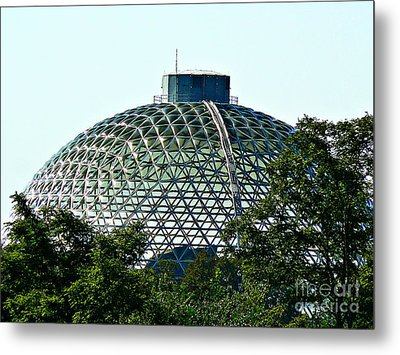 Metal Print featuring the photograph Desert Dome by Lin Haring