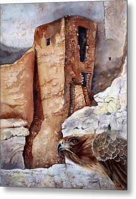 Desert Dwellers Metal Print by Mary McCullah
