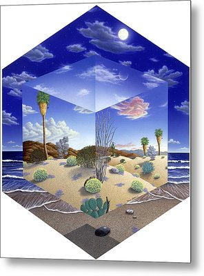 Desert On My Mind Metal Print by Snake Jagger
