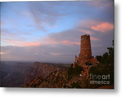 Desert View Watchtower Metal Print by Cassie Marie Photography