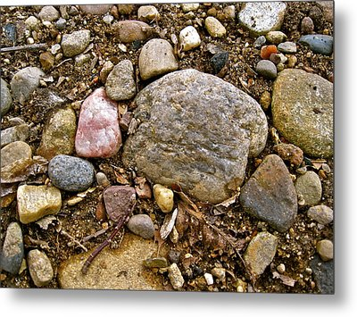 Designs By Nature - Fp3 - Rocks Metal Print by Felix Zapata