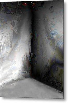 Desolate Metal Print by Paula Ayers