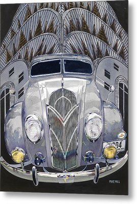 Desoto And Deco Design Metal Print by Mike Hill
