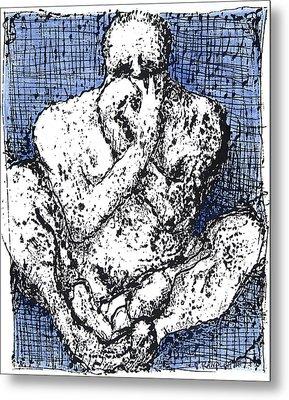 Despair Metal Print by Vincent Randlett III