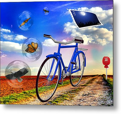 Destination Unknown Metal Print by Anthony Caruso