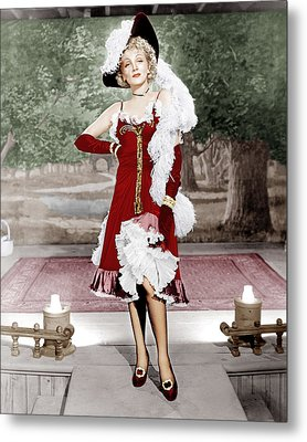 Destry Rides Again, Marlene Dietrich Metal Print by Everett