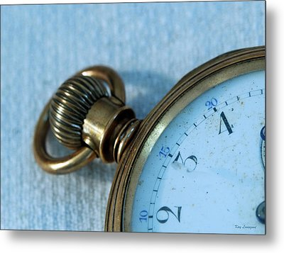 Metal Print featuring the photograph Details Of Time 1 by Kay Lovingood