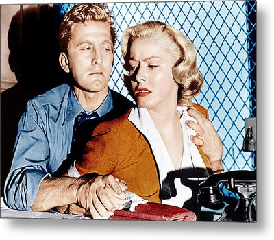 Detective Story, From Left Kirk Metal Print by Everett