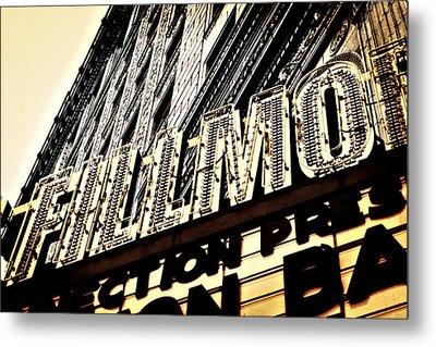 Detroit Fillmore Theatre Metal Print by Alanna Pfeffer