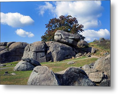 Devil's Den Formation 25 Metal Print by Paul W Faust -  Impressions of Light
