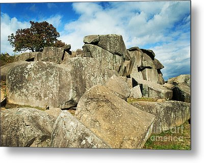 Devil's Den Formation 87 Metal Print by Paul W Faust -  Impressions of Light