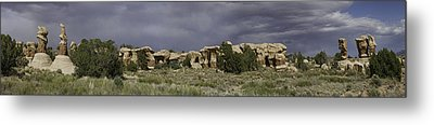 Metal Print featuring the photograph Devils Garden Panorama by Gregory Scott