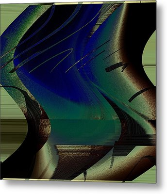 Devine Swirl Metal Print