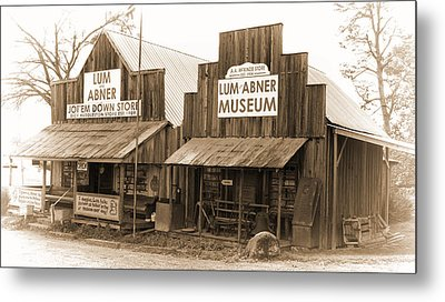 Dick Huddleston Store Est. 1909 Metal Print by Douglas Barnard