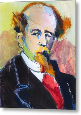 Dickens Metal Print by Les Leffingwell