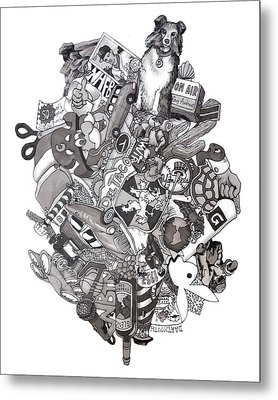 Difrancesco Legacy Metal Print by Tyler Auman