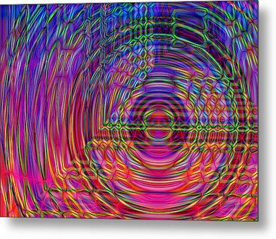 Metal Print featuring the digital art Digets by David Pantuso