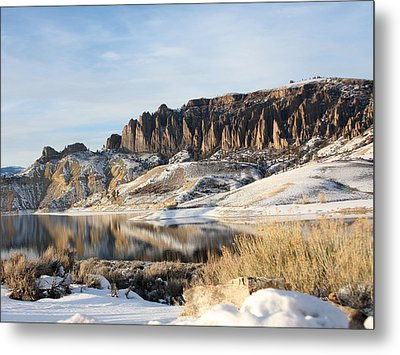 Metal Print featuring the photograph Dillon Pinnacles II by Marta Alfred