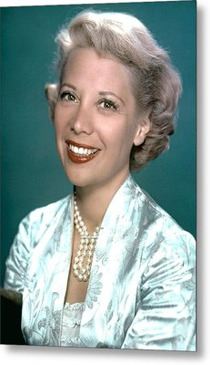 Dinah Shore, Ca. 1950s Metal Print by Everett