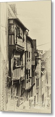 Metal Print featuring the photograph Dinan Antique I by Jack Torcello