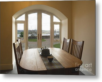 Dining Room Table Metal Print by Iain Sarjeant