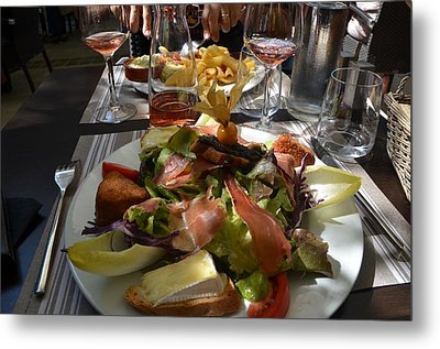 Dinner Is Served Metal Print by Dany Lison