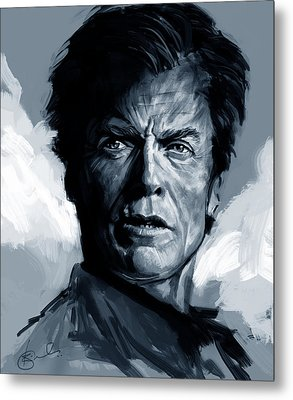 Dirty Harry  - Clint Eastwood  Metal Print