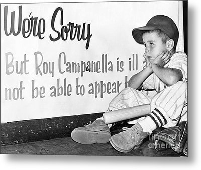 Disappointed Boy, 1957 Metal Print by Granger