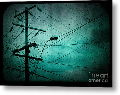 Disconnection Metal Print by Andrew Paranavitana