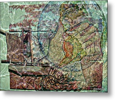 Discovery Of America Metal Print by Paulo Zerbato