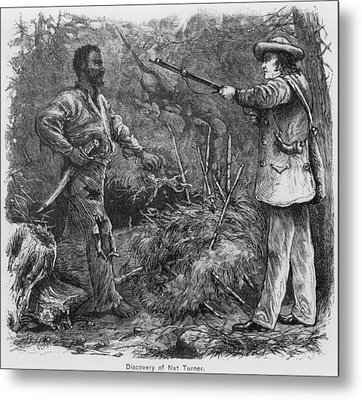 Discovery Of Nat Turner 1800-1831 Metal Print by Everett