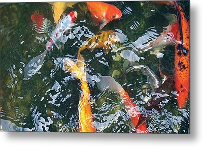 Metal Print featuring the photograph Distortion by Dan Menta