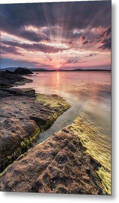 Divine Sunset Metal Print by Evgeni Dinev