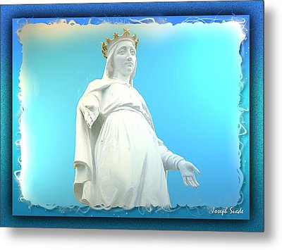 Do-00531 Our Lady Of Lebanon Metal Print by Digital Oil