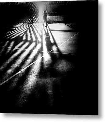 Do You See Darkness Or Light Metal Print by Robbert Ter Weijden