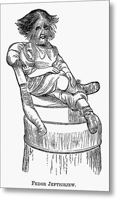 Dog-faced Boy, 1874 Metal Print by Granger