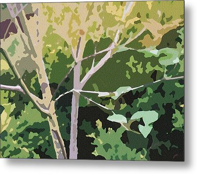 Dogwood I Metal Print by Katharine Birkett