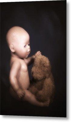 Doll And Bear Metal Print by Joana Kruse