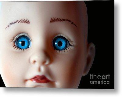 Doll Eyes Metal Print by Dan Holm