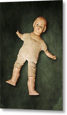 Doll Metal Print by Joana Kruse