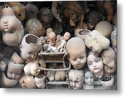 Doll Parts Metal Print by Ed Rooney