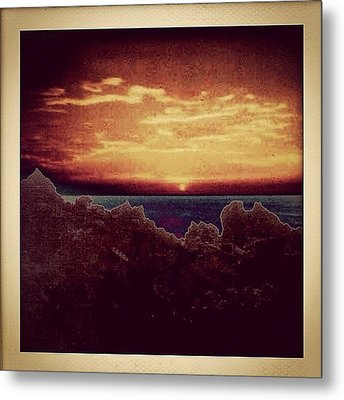 Dominican Republic Sunset Metal Print by Natasha Marco