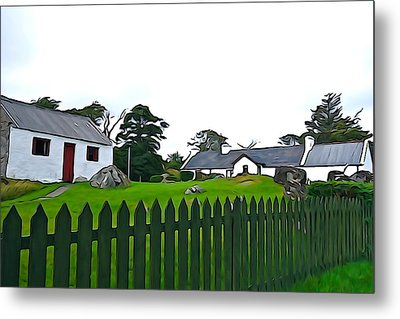 Metal Print featuring the photograph Donegal Home by Charlie and Norma Brock