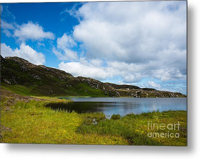 Donegal Scenic Metal Print by Andrew  Michael