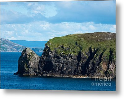 Donegal Seascape Metal Print by Andrew  Michael