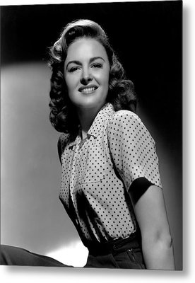Donna Reed, 1944 Metal Print by Everett