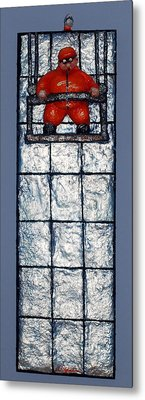 Don't Look Down Metal Print by Alison  Galvan