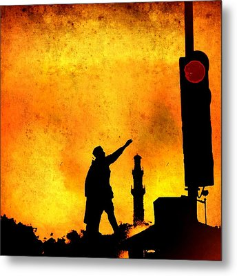 Dont Stop March On Metal Print by Abhishek Chamaria